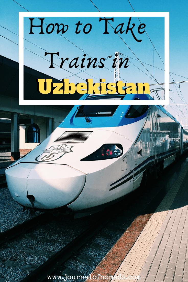 Taking trains in Uzbekistan - The Uzbekistan railways guide