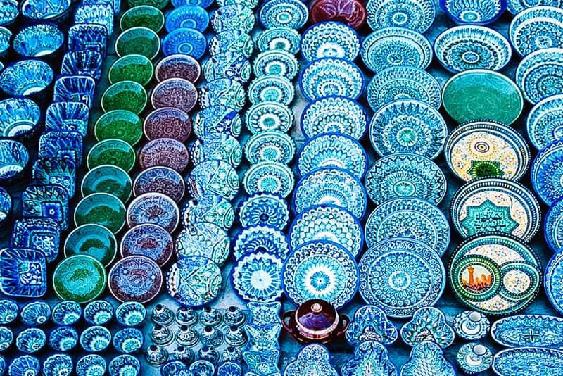 Uzbekistan Ceramics Rishton
