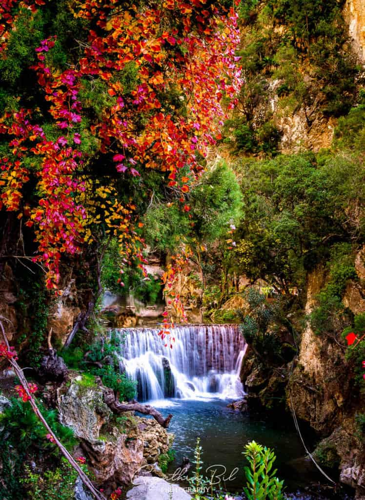 Beautiful places in Morocco - Akchour waterfalls Morocco