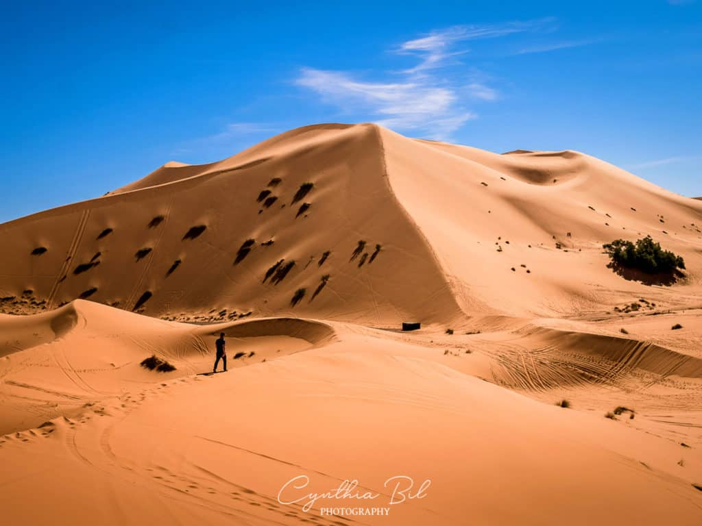 Best places in Morocco for photography - Merzouga desert - walking in the desert - Journal of Nomads