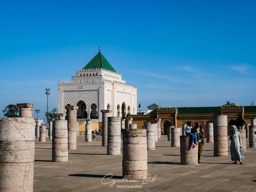 Hassan Mausoleum Rabat Morocco