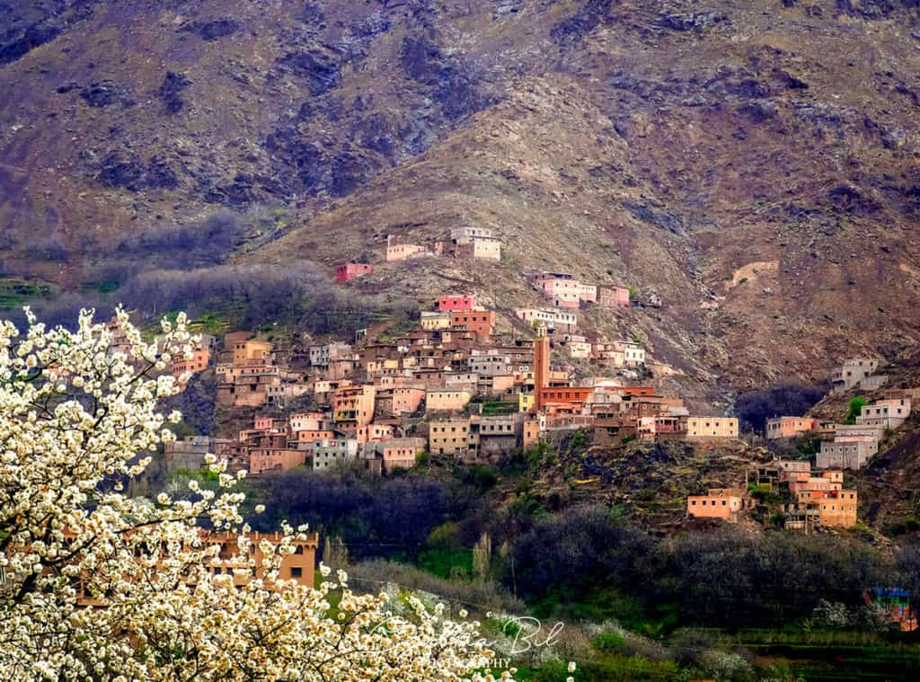 Imlil Morocco in spring