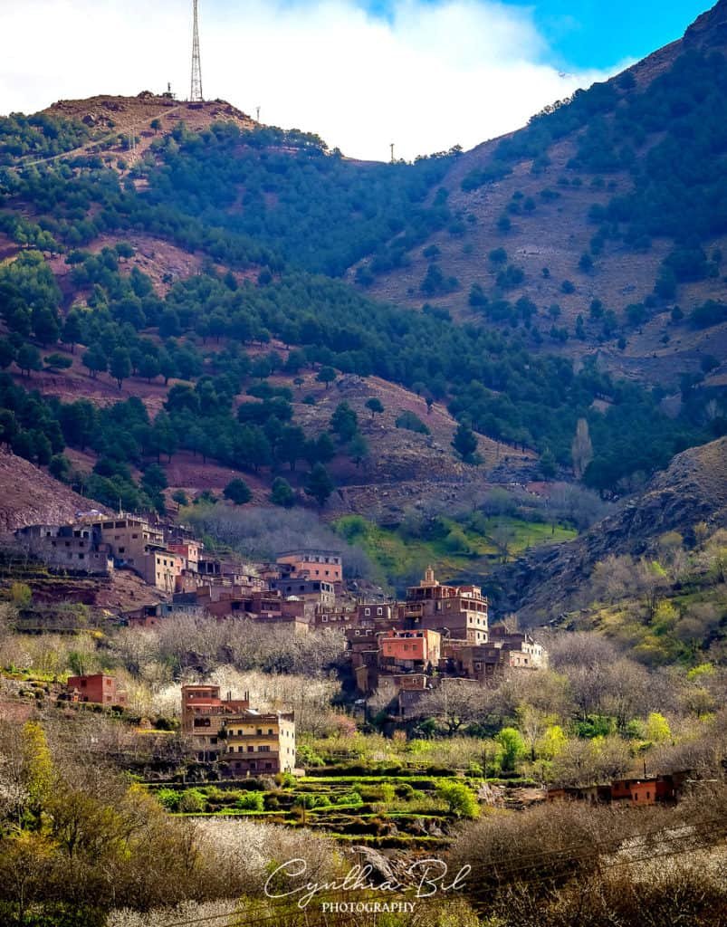 Beautiful places to visit in Morocco - landscapes Morocco - Berber villages - Imlil