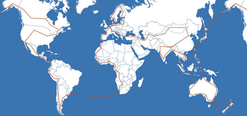 Cycling around the world itinerary - XPLORID