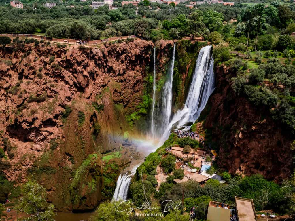 Best places to visit in Morocco - Ouzoud Waterfalls