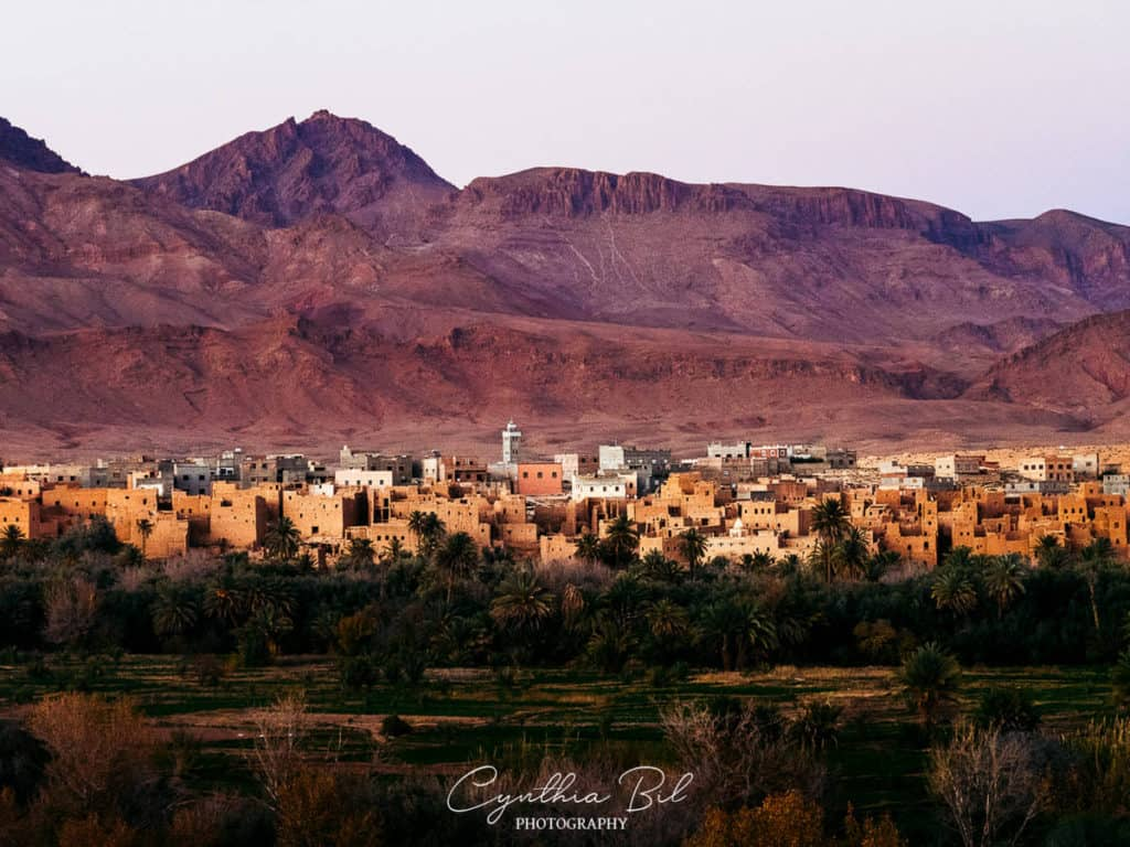 Berber villages in Morocco