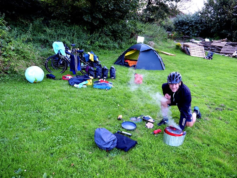cycling the world camping in nature xplorid