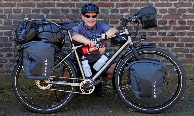 7 years of Cycling around the world - XPLORID - Ben