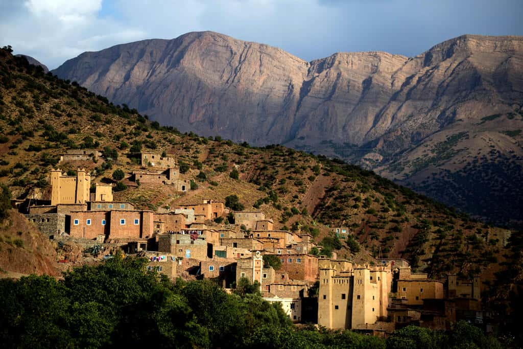 Best places to visit in Morocco, Atlas Mountains, Zaouiat Ahansal