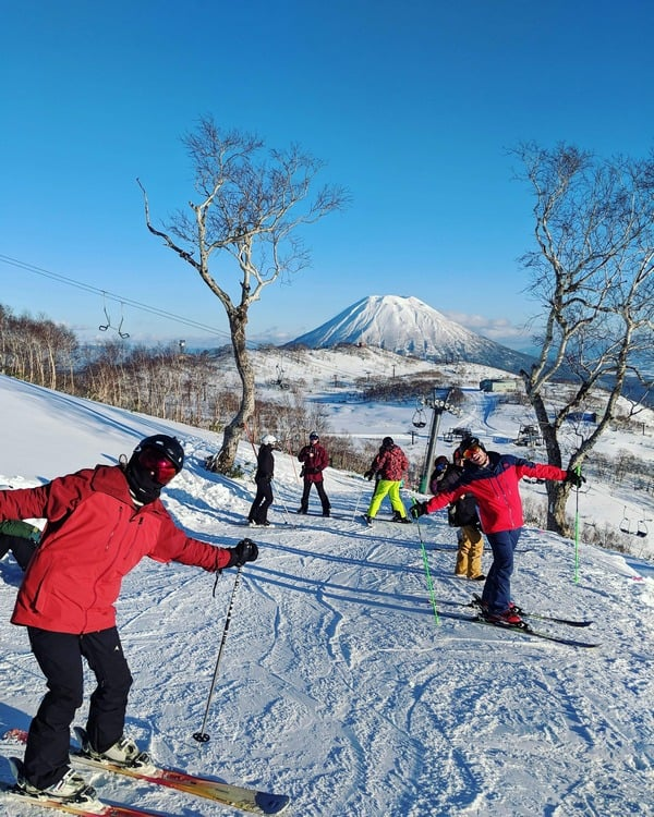ski hills in Japan
