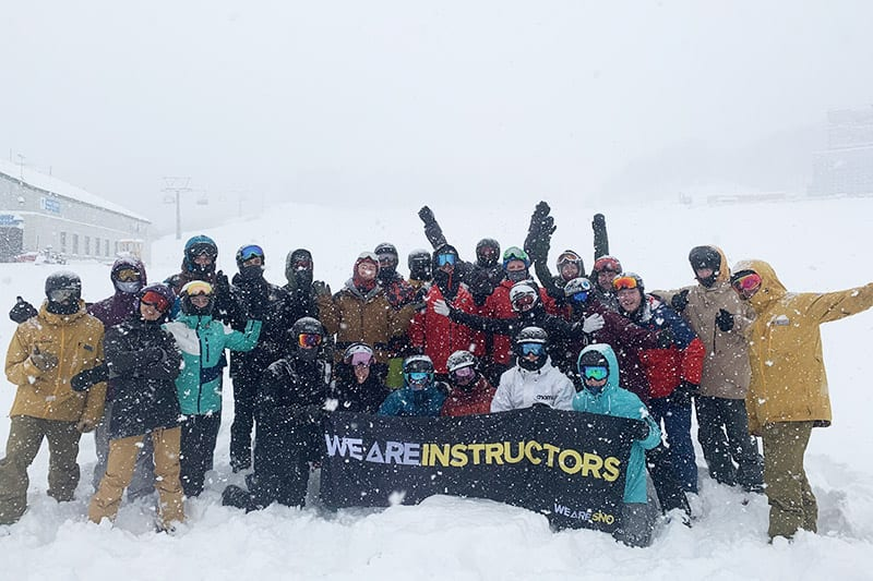 passing the ski instructor course