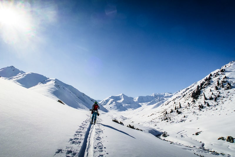 where can you ski in kyrgyzstan - back country skiing in Kyrgyzstan