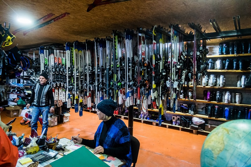 where to rent skis in Karakol - Kyrgyzstan