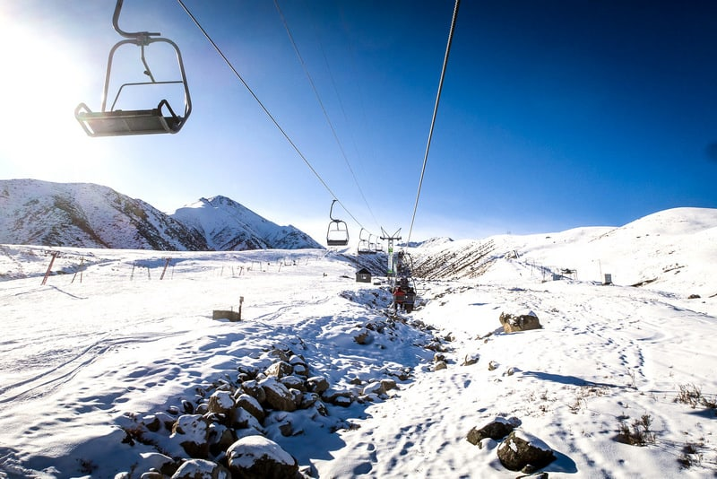 is it safe to ski in Kyrgyzstan