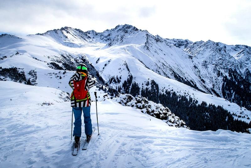 ski in kyrgyzstan