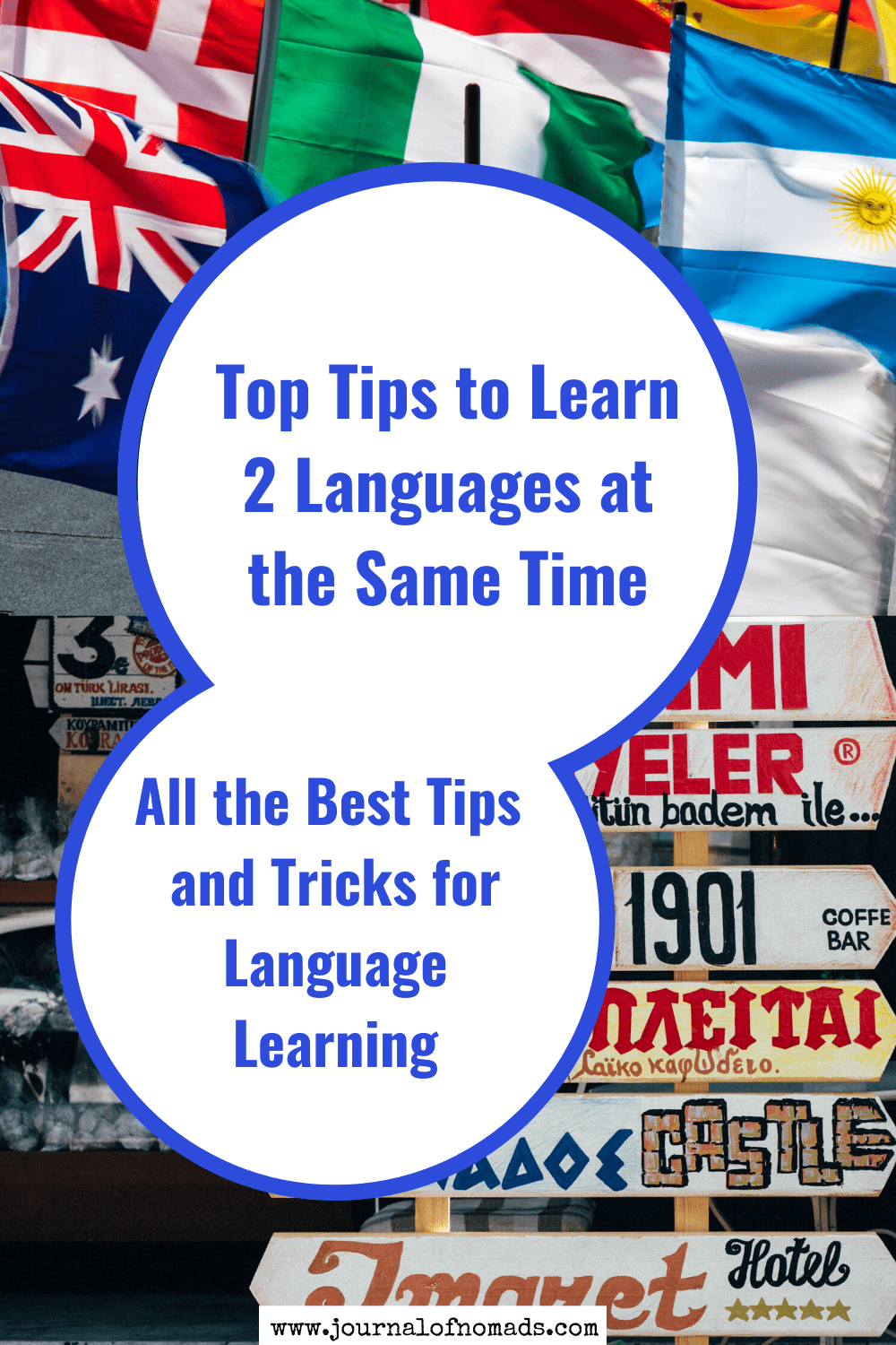 tricks to learn 2 languages at the same time