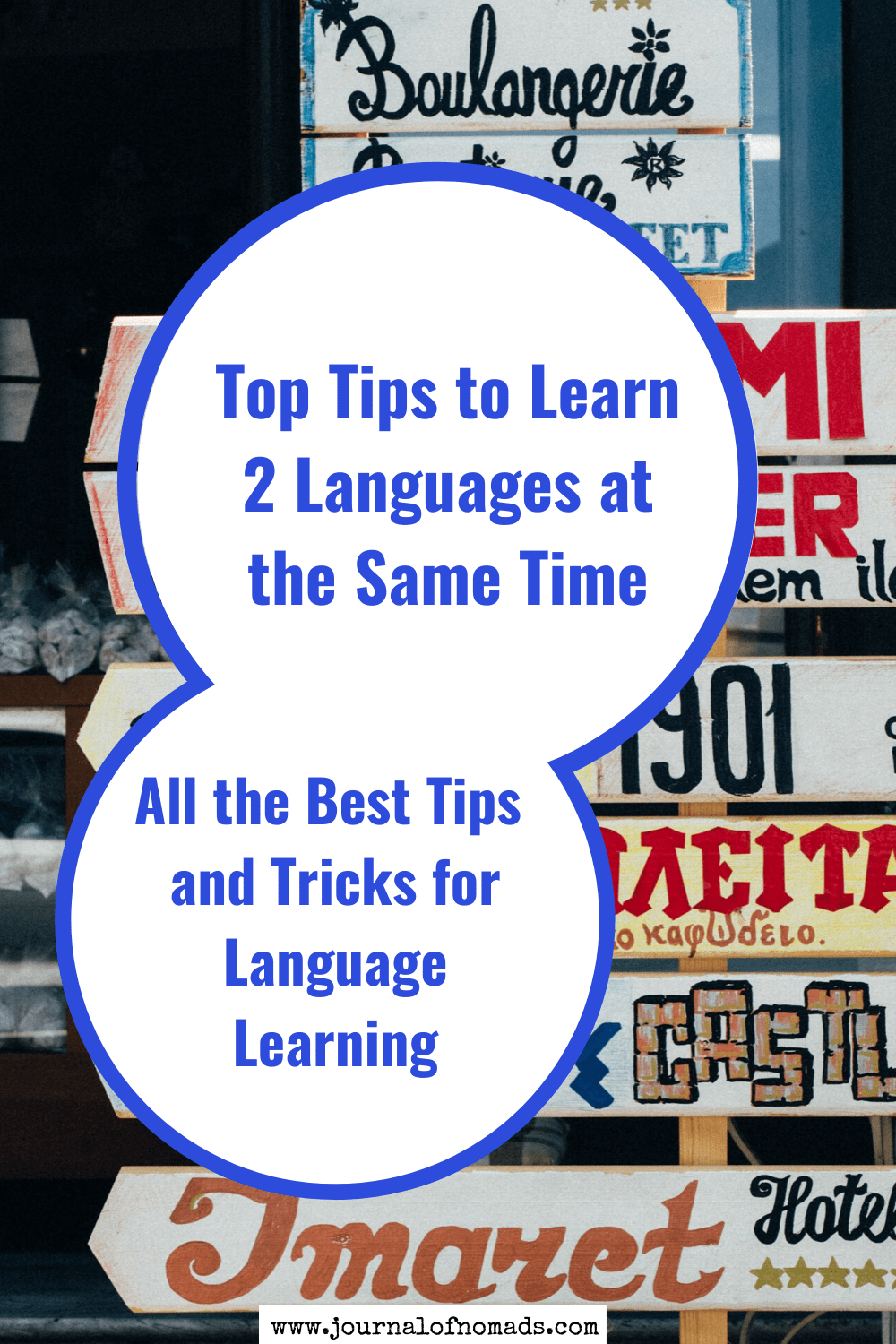 tips to learn two languages at once