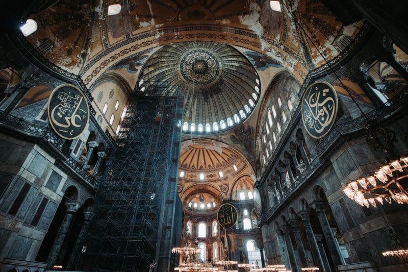 Inside Haga Sofia - Best activities in Istanbul