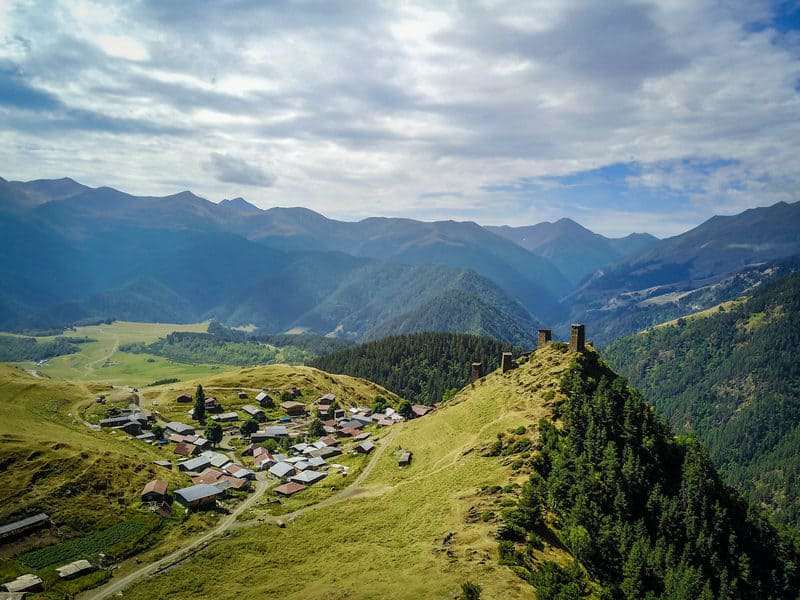 The best and most beautiful places to visit in Georgia country - Journal of Nomads